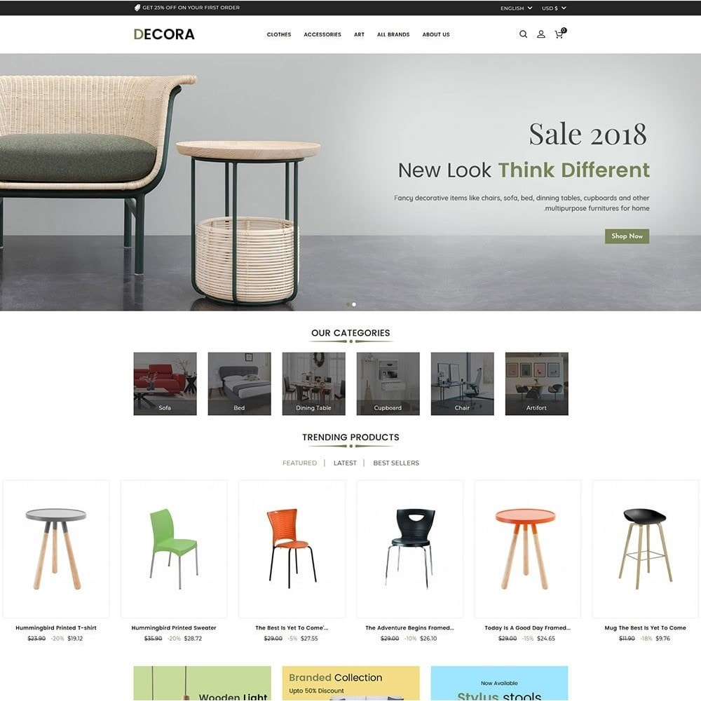 theme - Dom & Ogród - Decora Furniture Store - 2