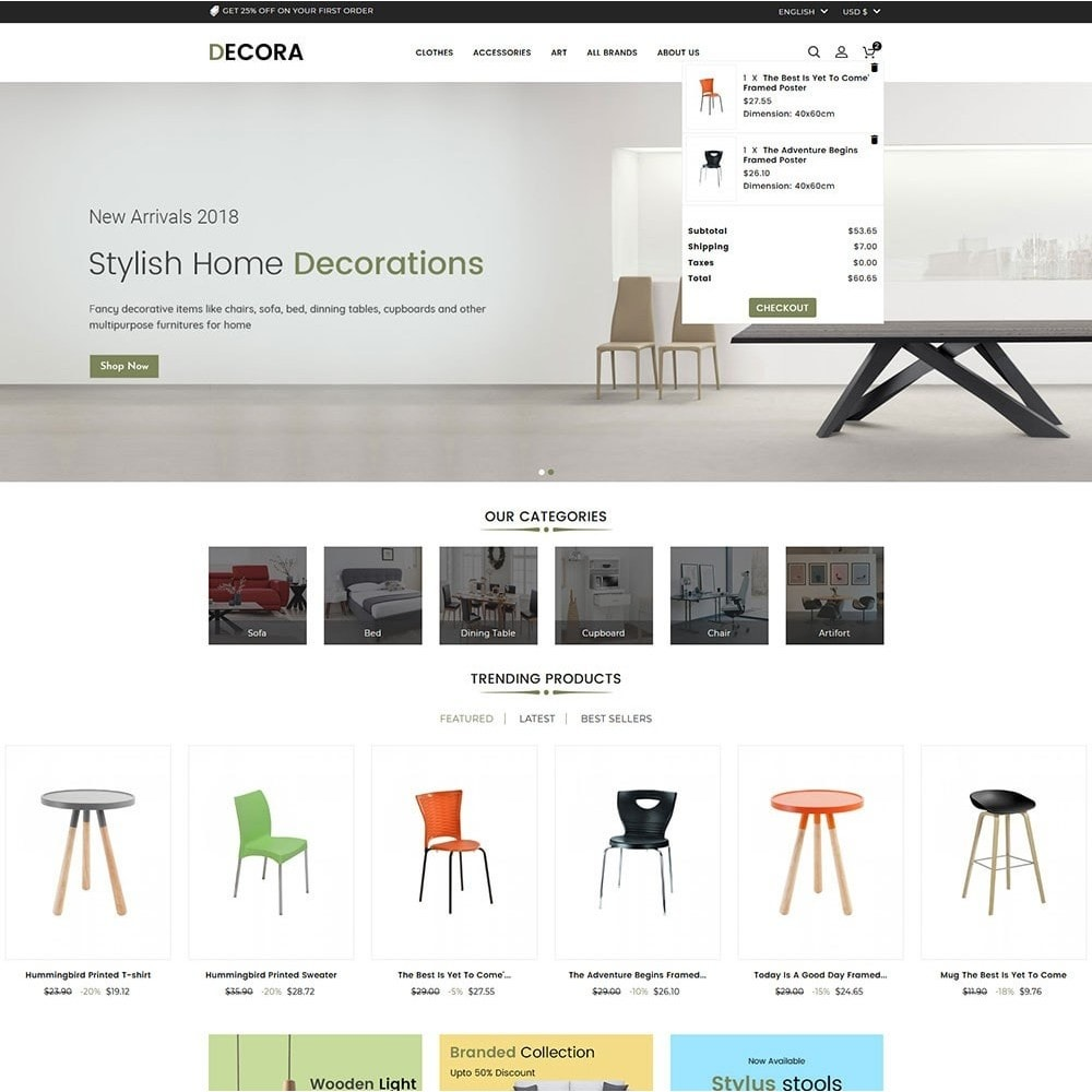 theme - Dom & Ogród - Decora Furniture Store - 3