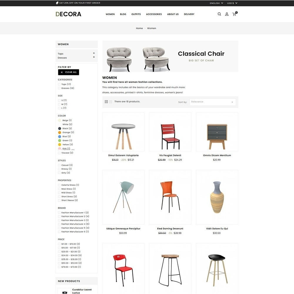 theme - Dom & Ogród - Decora Furniture Store - 4
