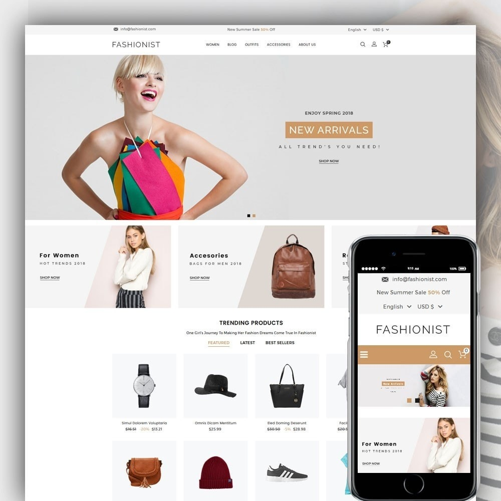 theme - Moda & Calzature - Fashionist Fashion Store - 1