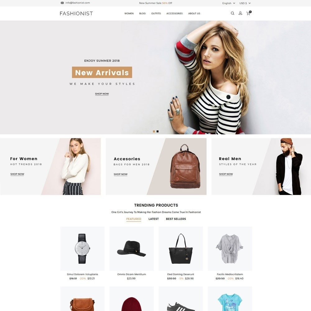 theme - Moda & Calzature - Fashionist Fashion Store - 2