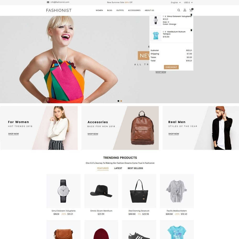 theme - Moda & Calzature - Fashionist Fashion Store - 3