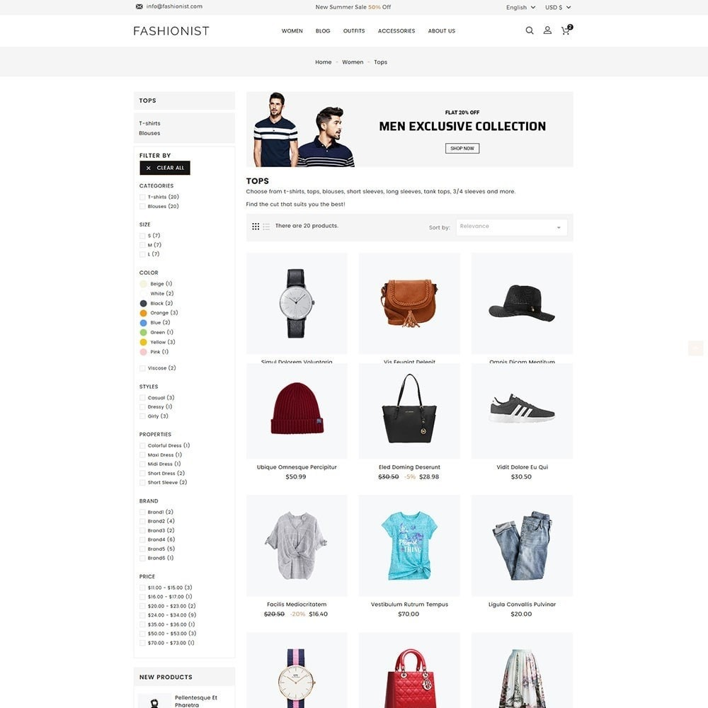 theme - Moda & Calzature - Fashionist Fashion Store - 4