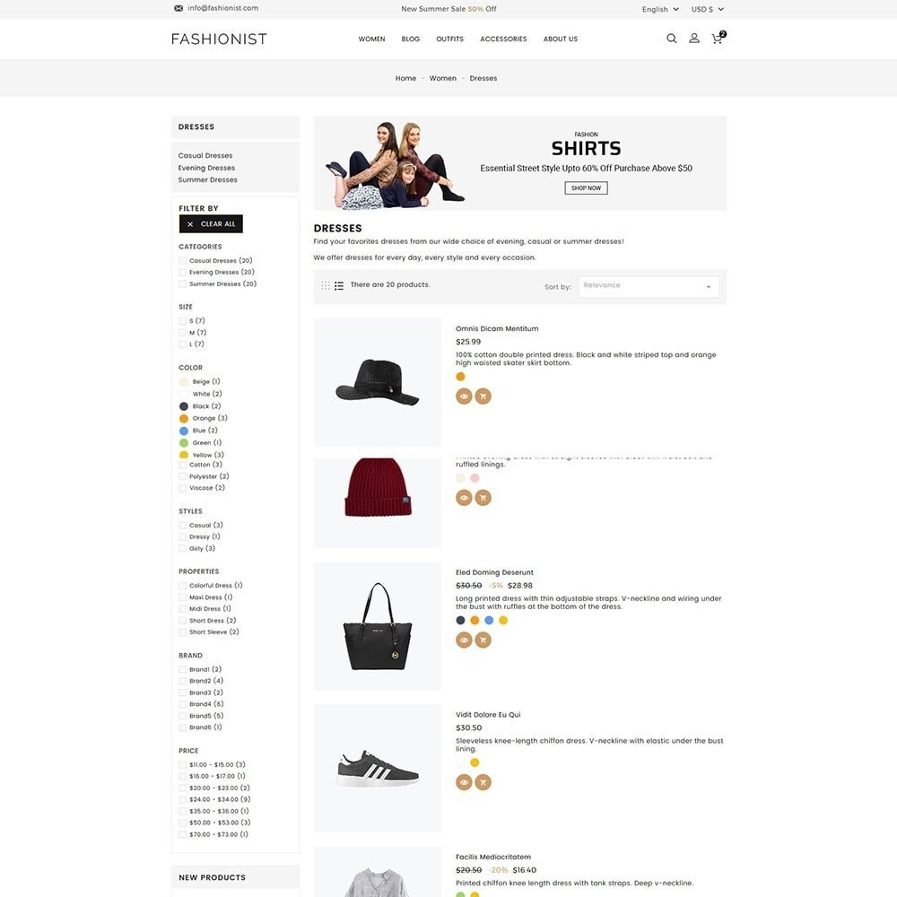 theme - Moda & Calzature - Fashionist Fashion Store - 5