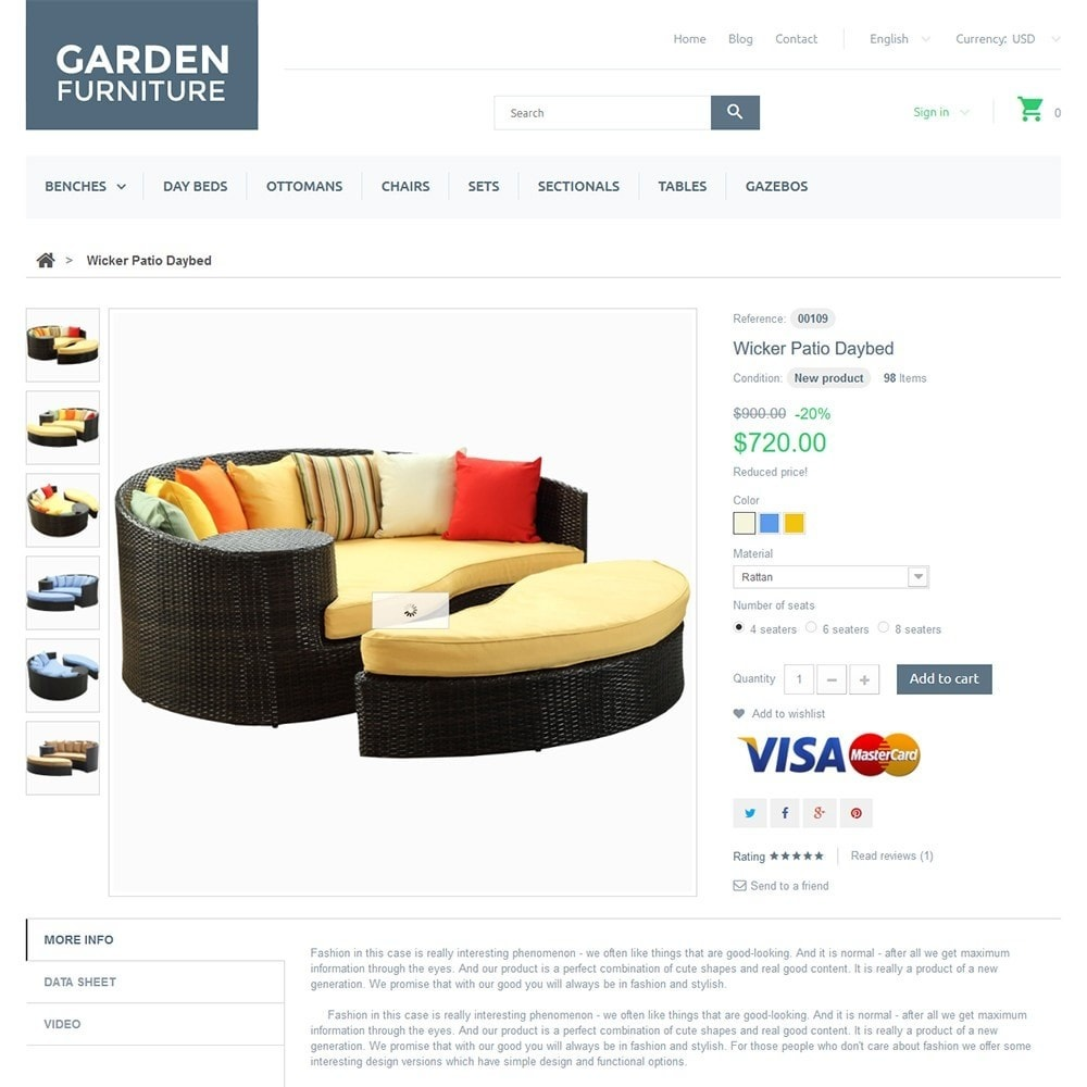 theme - Kunst & Kultur - Garden Furniture - 3