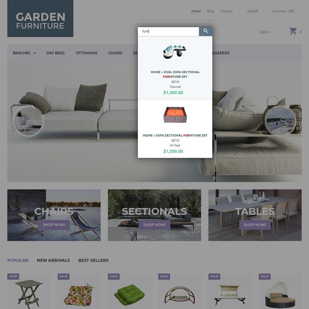 theme - Kunst & Kultur - Garden Furniture - 6