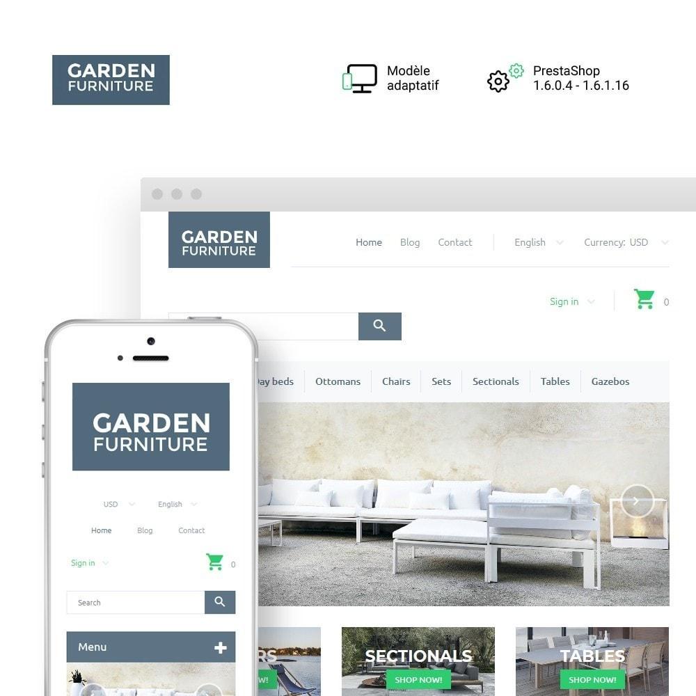 theme - Art & Culture - Garden Furniture - 1