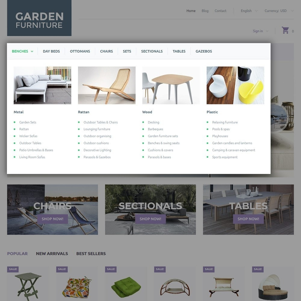 theme - Искусство и Культура - Garden Furniture - 4