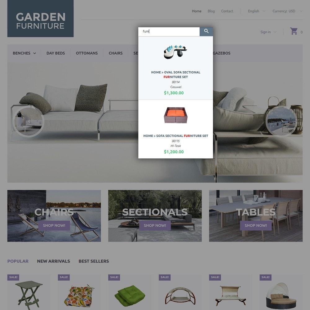 theme - Искусство и Культура - Garden Furniture - 6