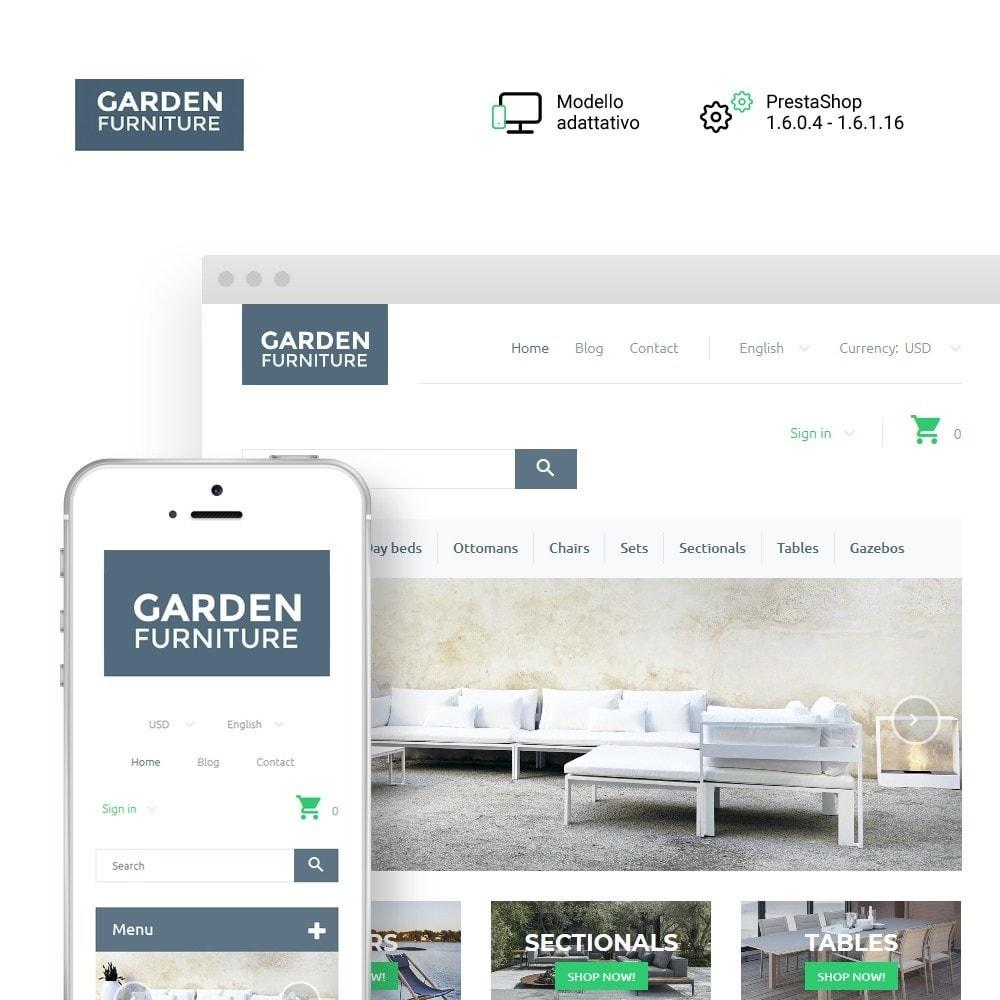 theme - Arte & Cultura - Garden Furniture - 1