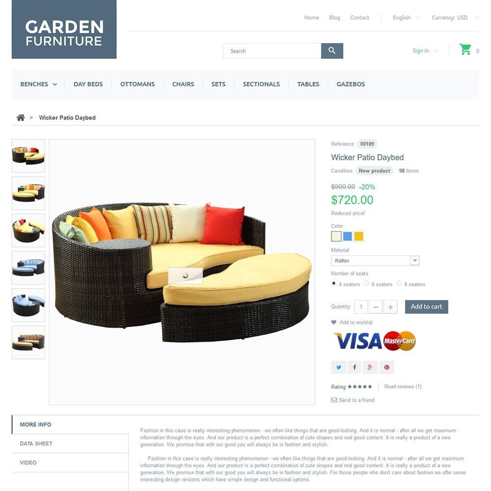 theme - Arte & Cultura - Garden Furniture - 3