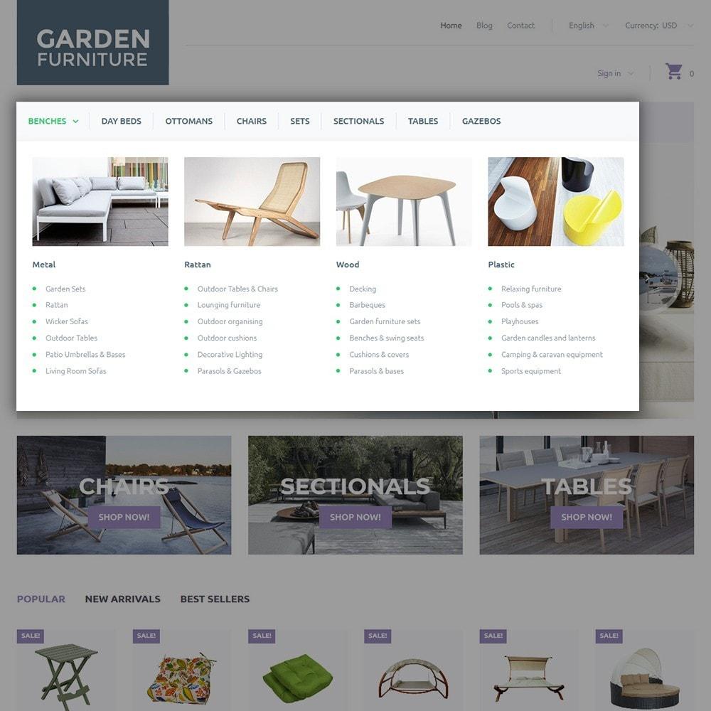 theme - Arte & Cultura - Garden Furniture - 4