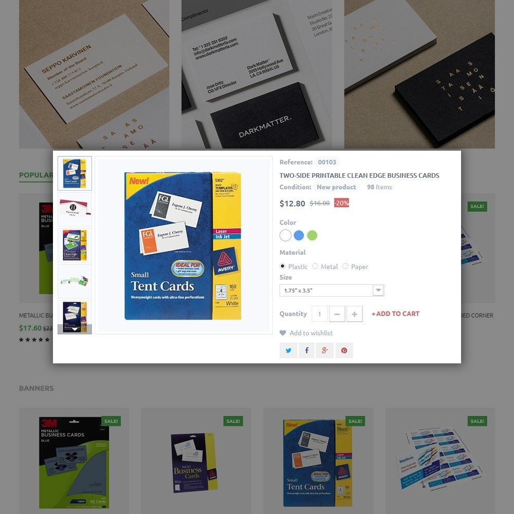 theme - Дом и сад - Business Card - 4