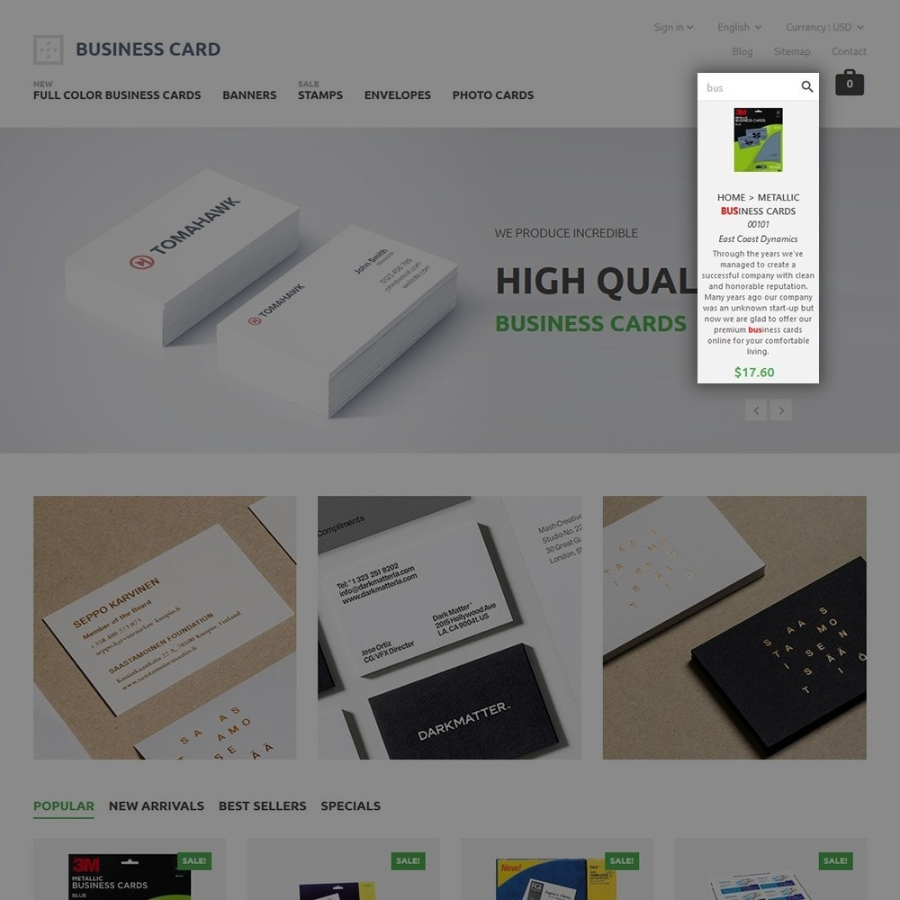 theme - Дом и сад - Business Card - 6
