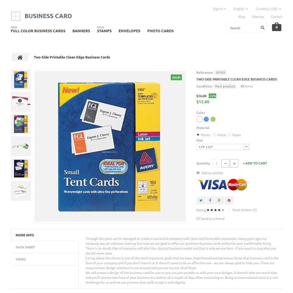 theme - Casa & Giardino - Business Card - 3