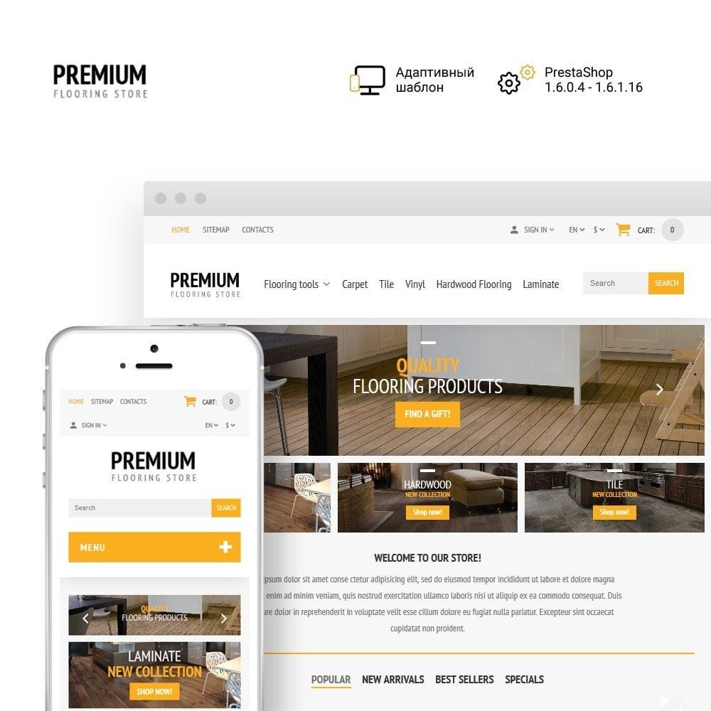 theme - Искусство и Культура - Premium Flooring - Flooring Store - 1