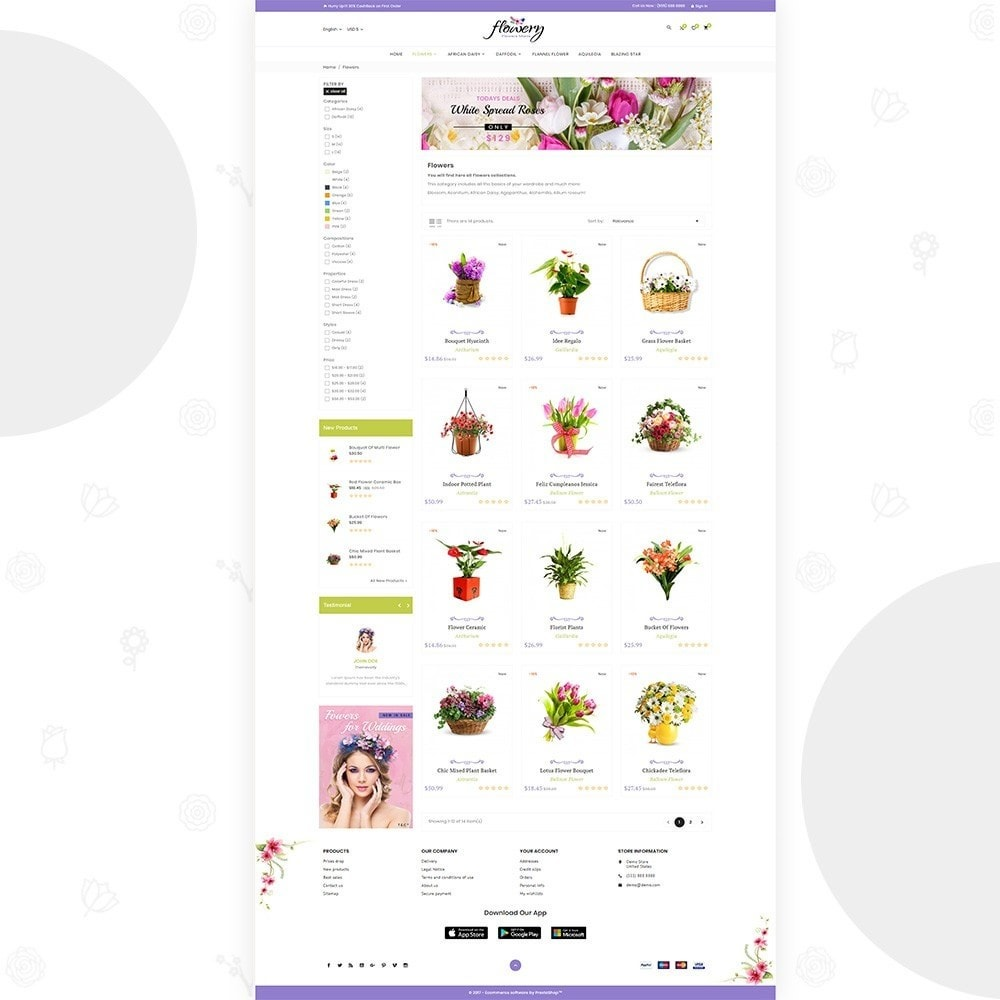 theme - Gifts, Flowers & Celebrations - Flowery – Flower and Decore Super Store - 3