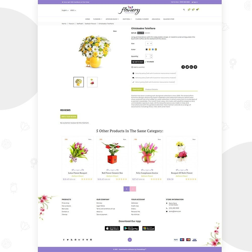 theme - Gifts, Flowers & Celebrations - Flowery – Flower and Decore Super Store - 4