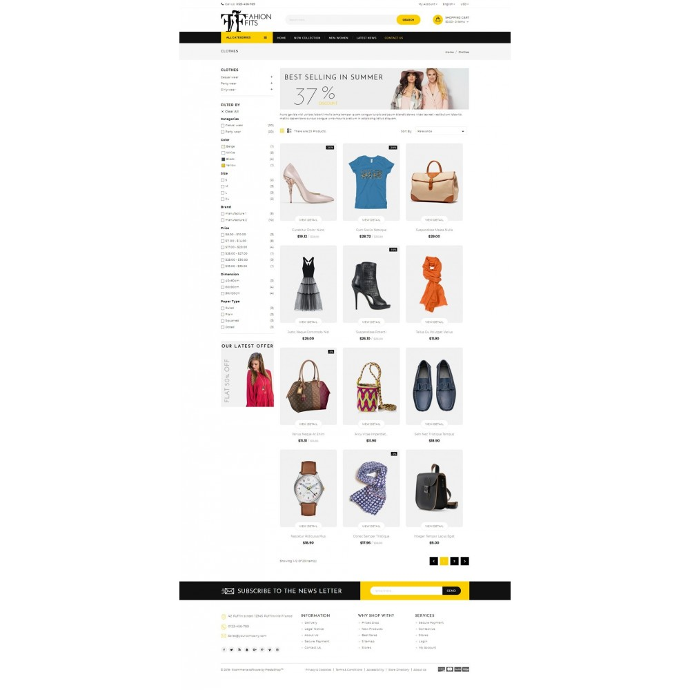 theme - Moda & Calzature - Fashion Fits Online Store - 3