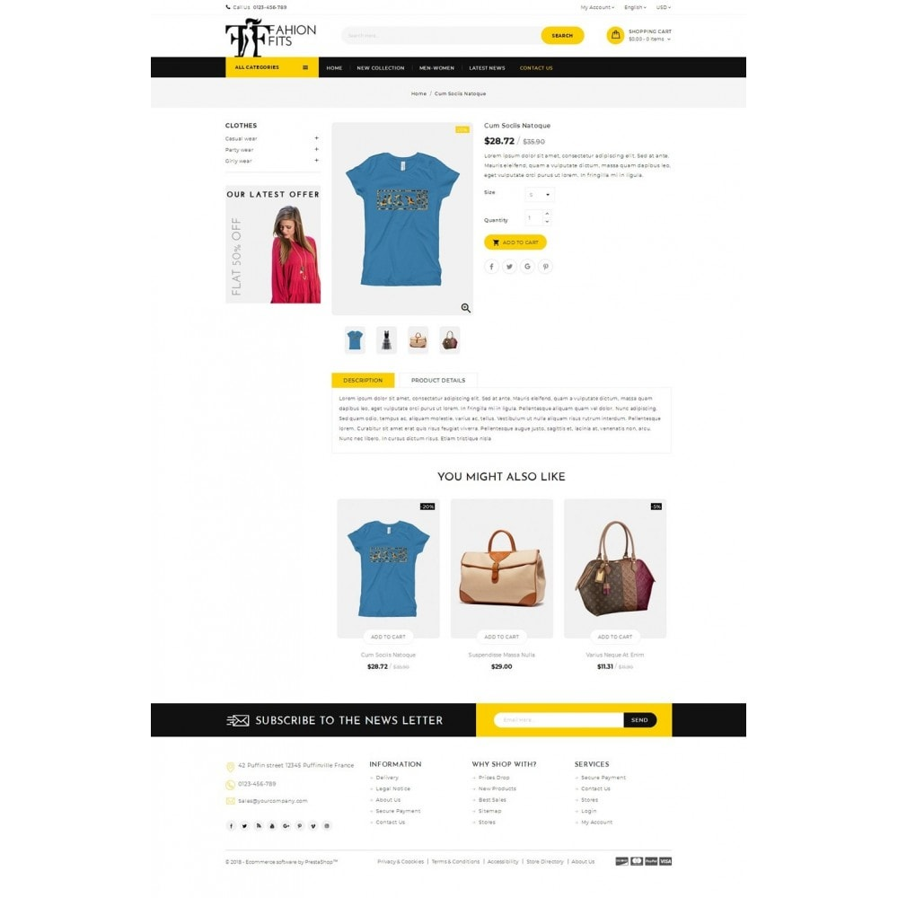 theme - Moda & Calzature - Fashion Fits Online Store - 4