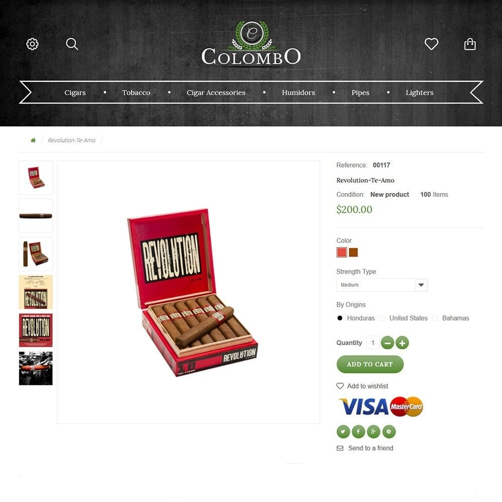 theme - Dom & Ogród - Colombo - Tobacco & Sigars Store - 3