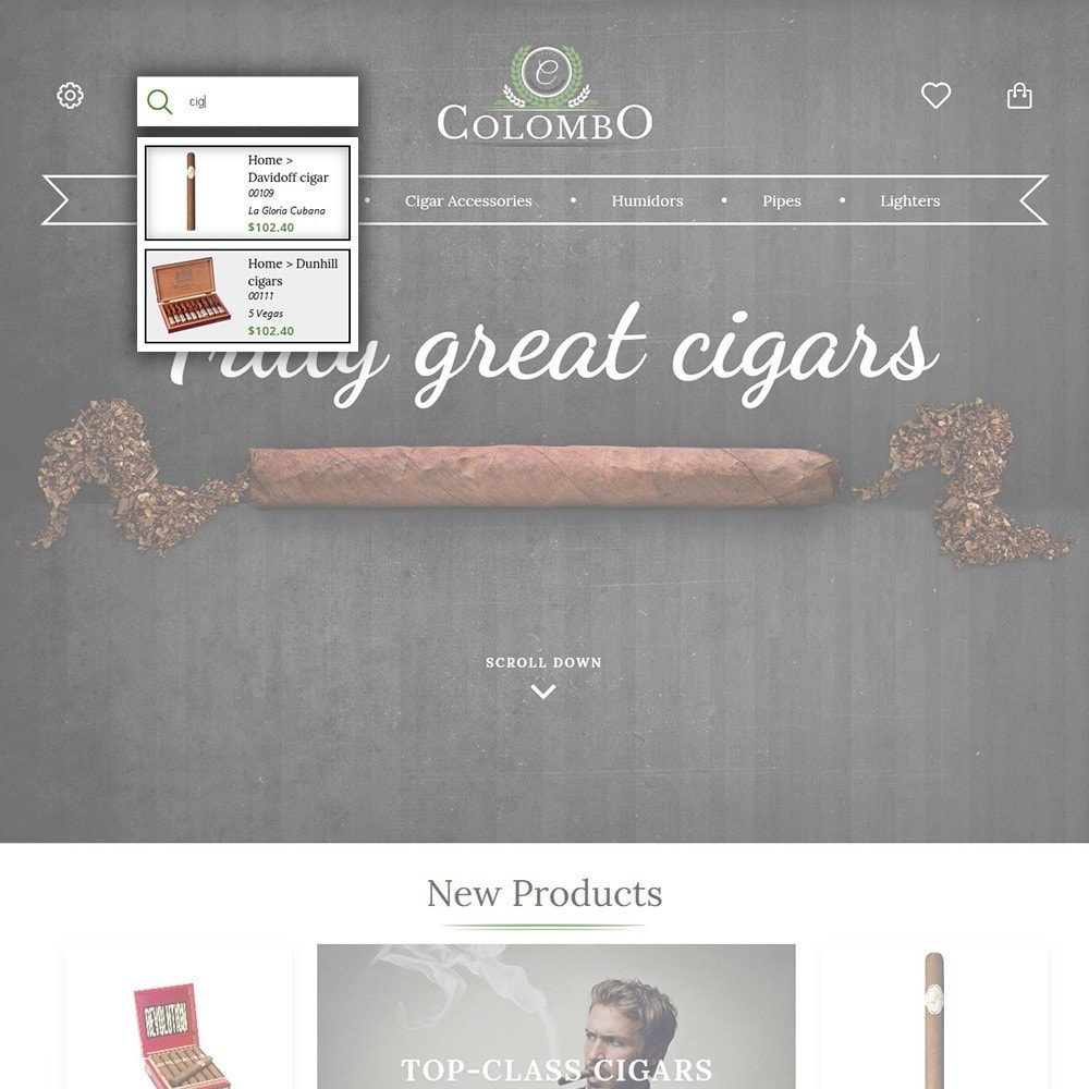 theme - Hogar y Jardín - Colombo - Tobacco & Sigars Store - 6