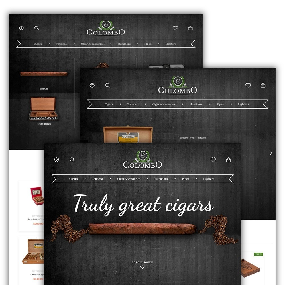 theme - Дом и сад - Colombo - Tobacco & Sigars Store - 2