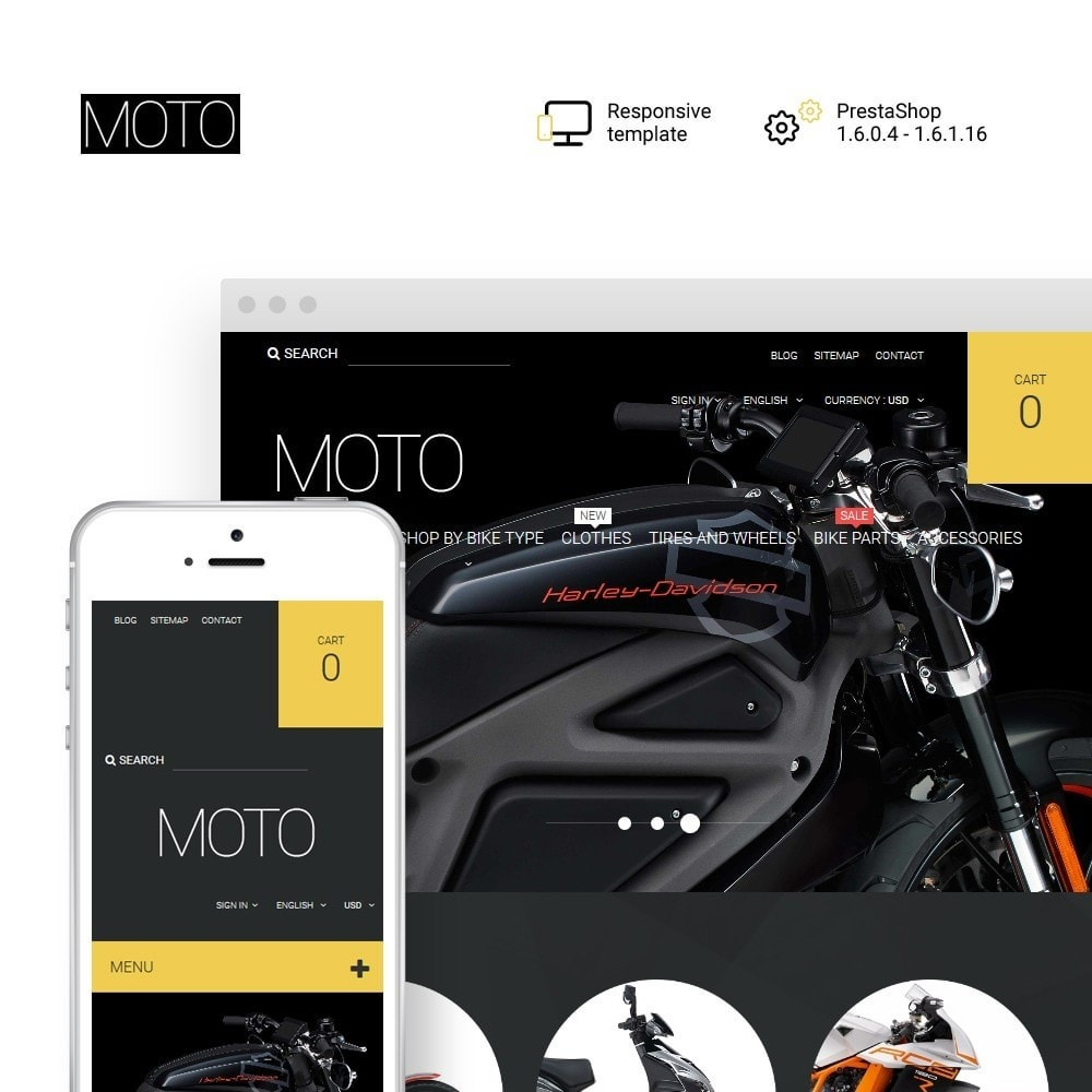 theme - Auto's & Motoren - Moto - Bike Shop - 1