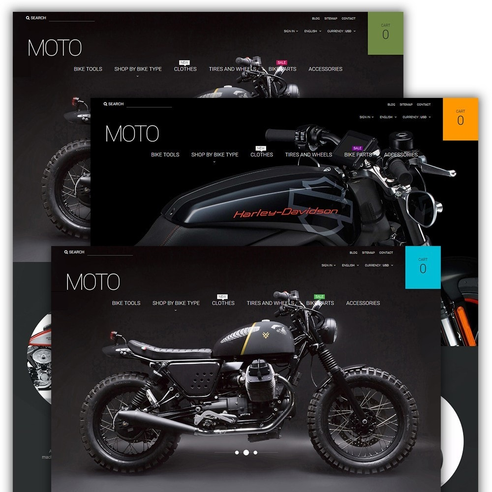 theme - Auto's & Motoren - Moto - Bike Shop - 2