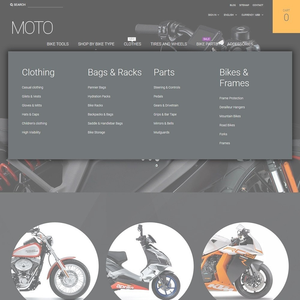 theme - Auto's & Motoren - Moto - Bike Shop - 4