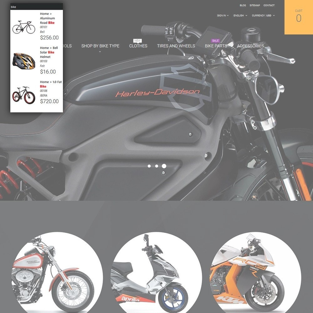 theme - Auto's & Motoren - Moto - Bike Shop - 6
