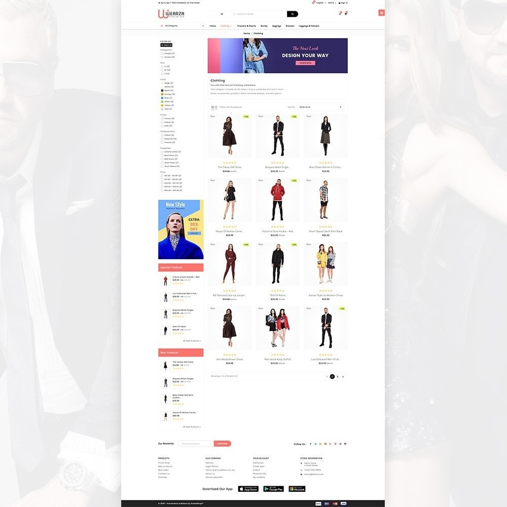 theme - Moda & Obuwie - Wearza – Fashion and Big Super Store - 3