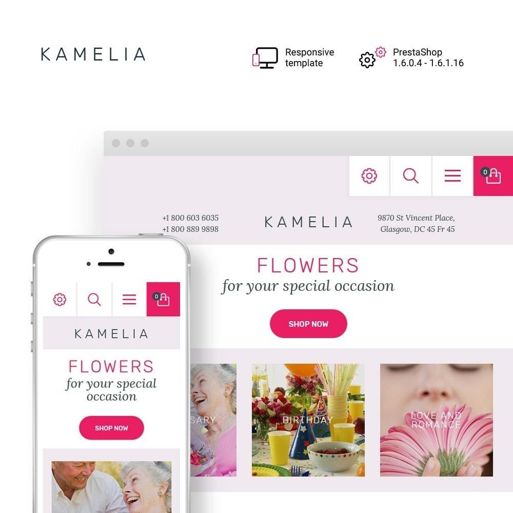 theme - Presentes, Flores & Comemorações - Kamelia - 1