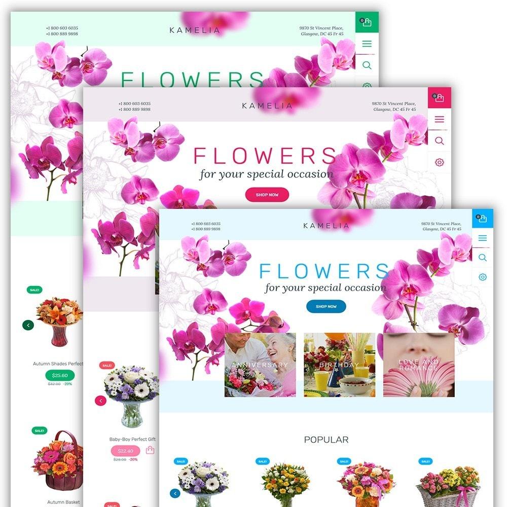 theme - Presentes, Flores & Comemorações - Kamelia - 2