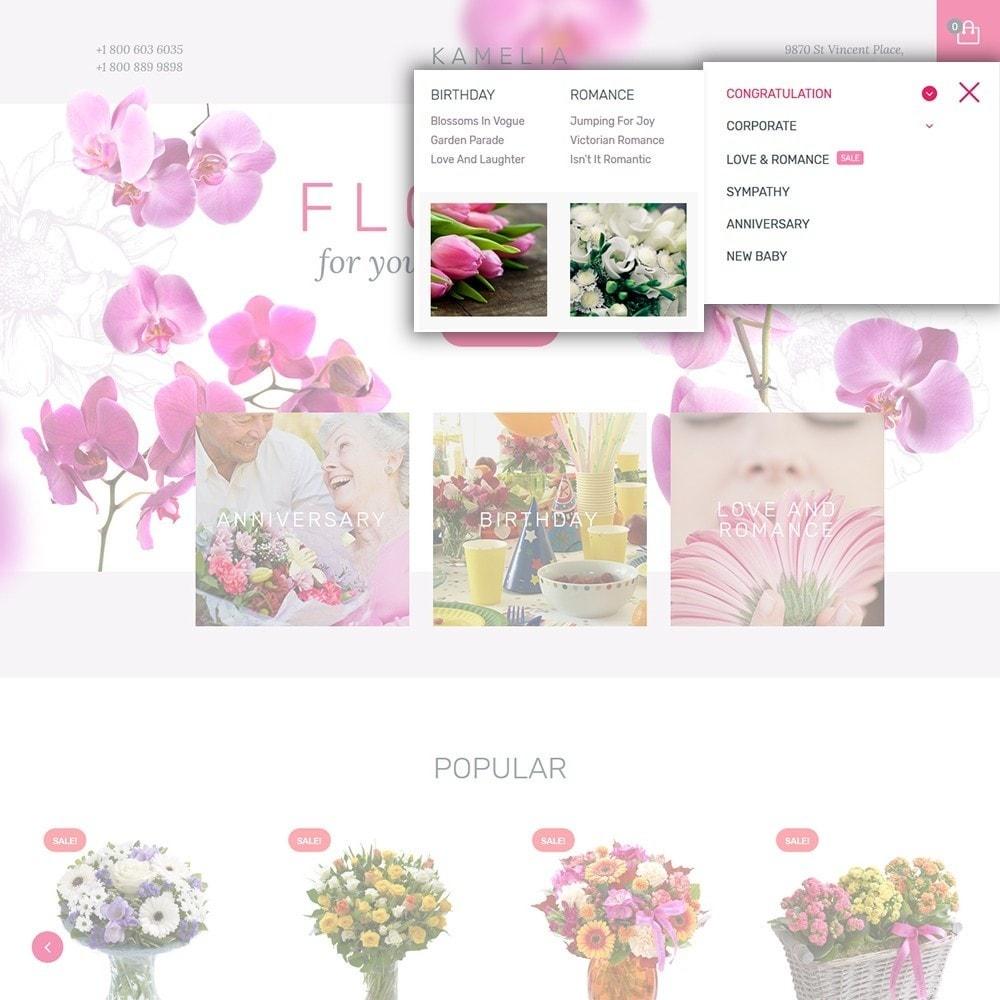 theme - Presentes, Flores & Comemorações - Kamelia - 5