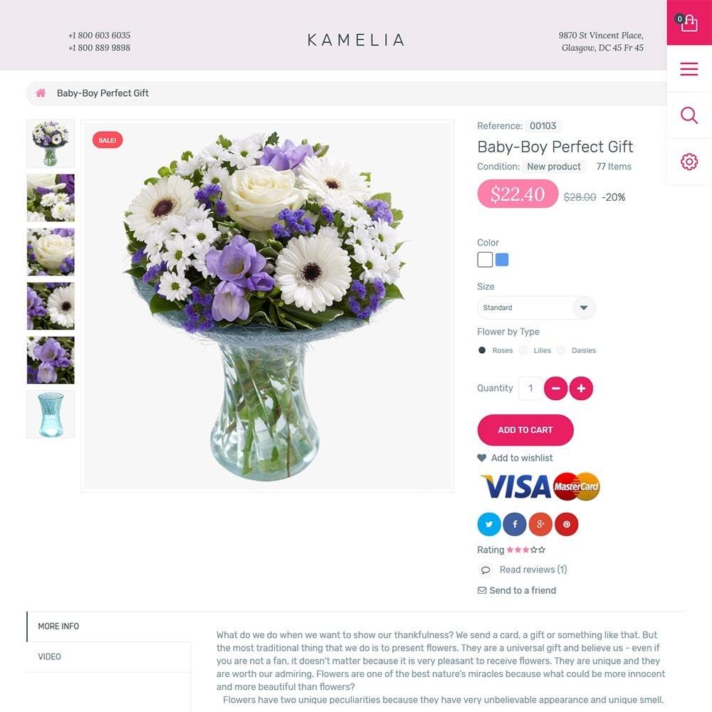 theme - Cadeaux, Fleurs et Fêtes - Kamelia - 3
