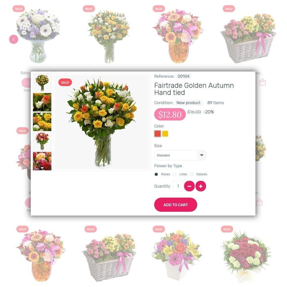 theme - Cadeaux, Fleurs et Fêtes - Kamelia - 4