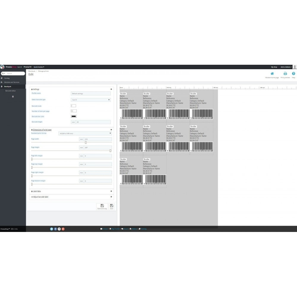 module - запасов и поставщиков - BqBarcodegeneration - 4