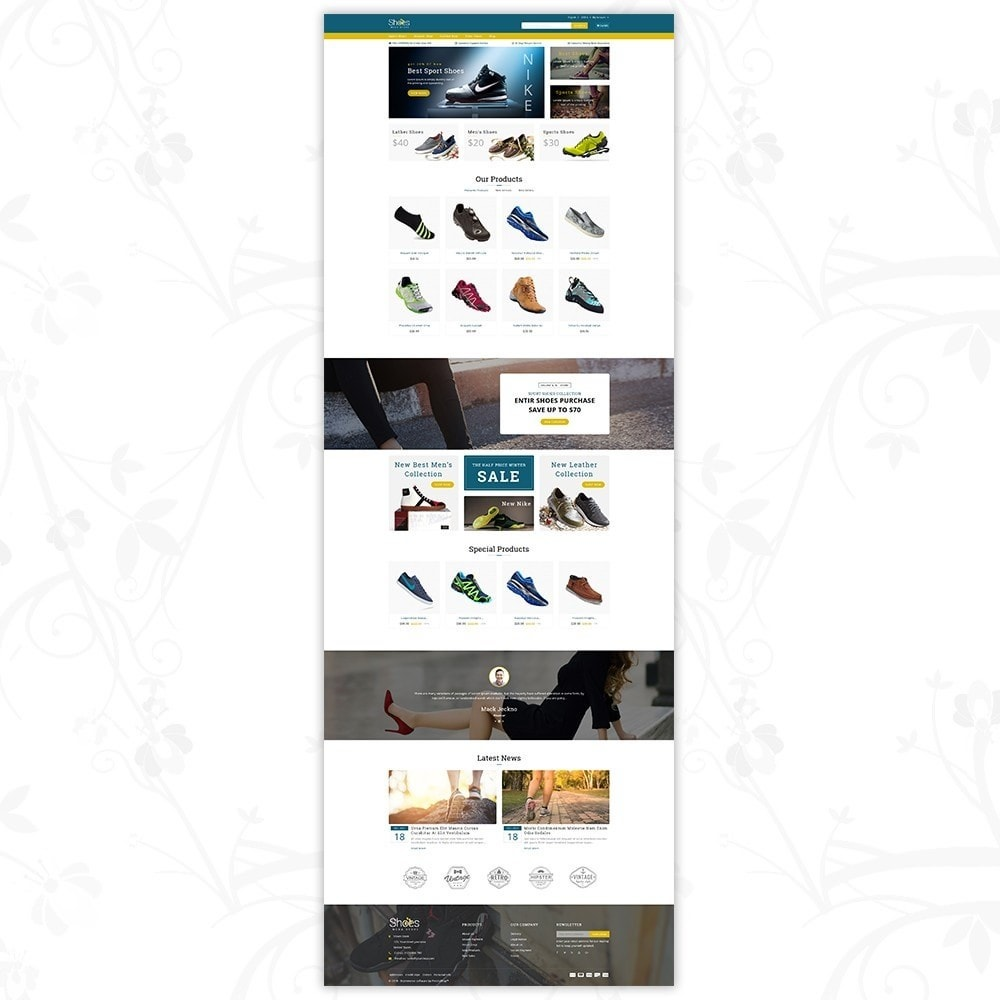 theme - Mode & Chaussures - Shoes Mega Store - 2