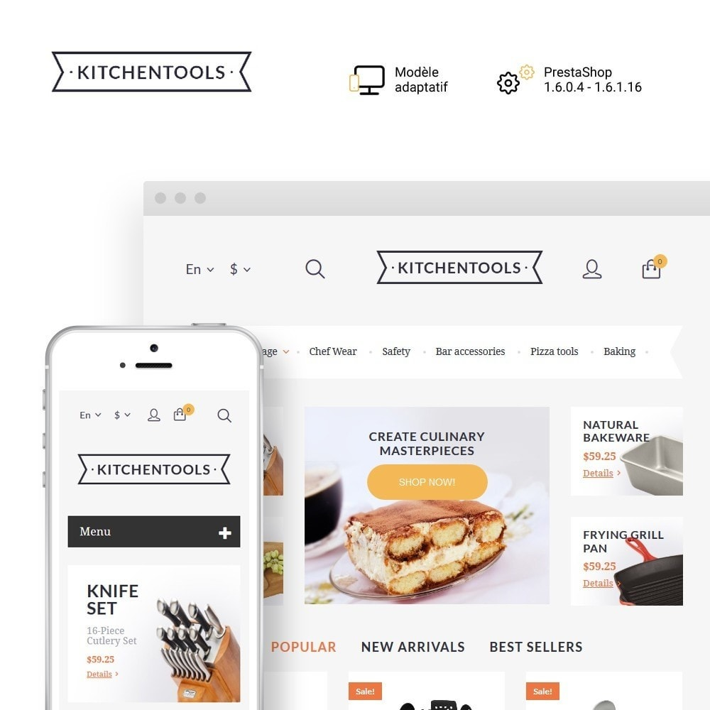 theme - Art & Culture - Kitchen Tools - 1