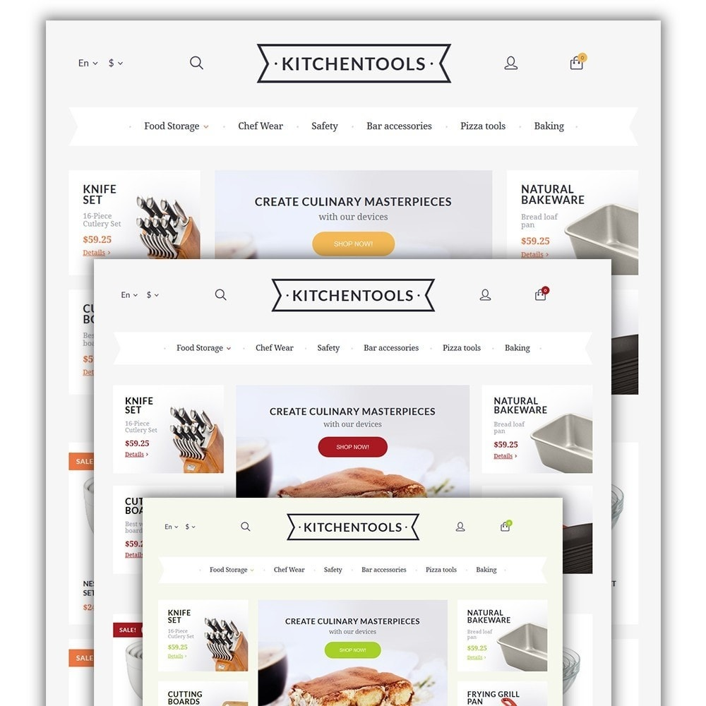 theme - Art & Culture - Kitchen Tools - 2