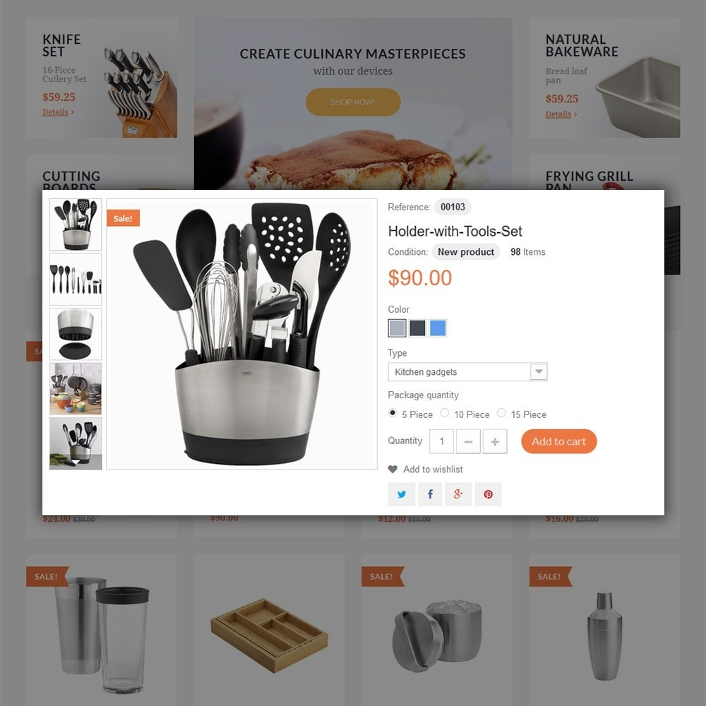 theme - Arte y Cultura - Kitchen Tools - 5