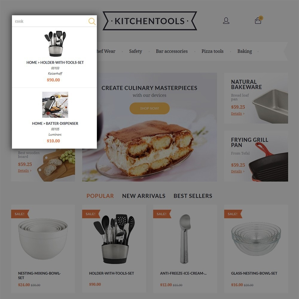 theme - Arte & Cultura - Kitchen Tools - 6