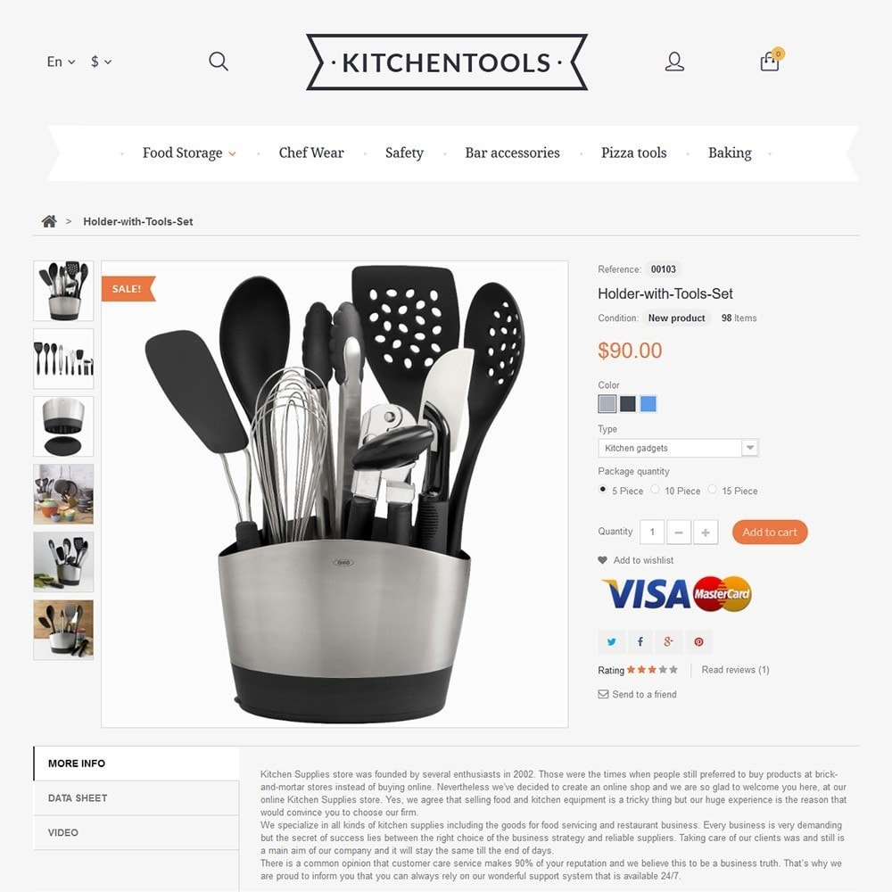 theme - Arte & Cultura - Kitchen Tools - 3