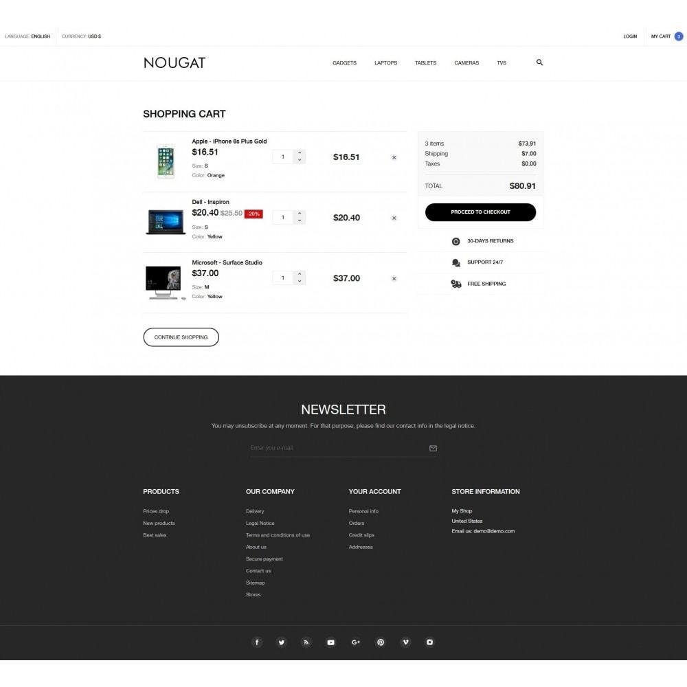 theme - Электроника и компьютеры - Nougat - High-tech Shop - 9