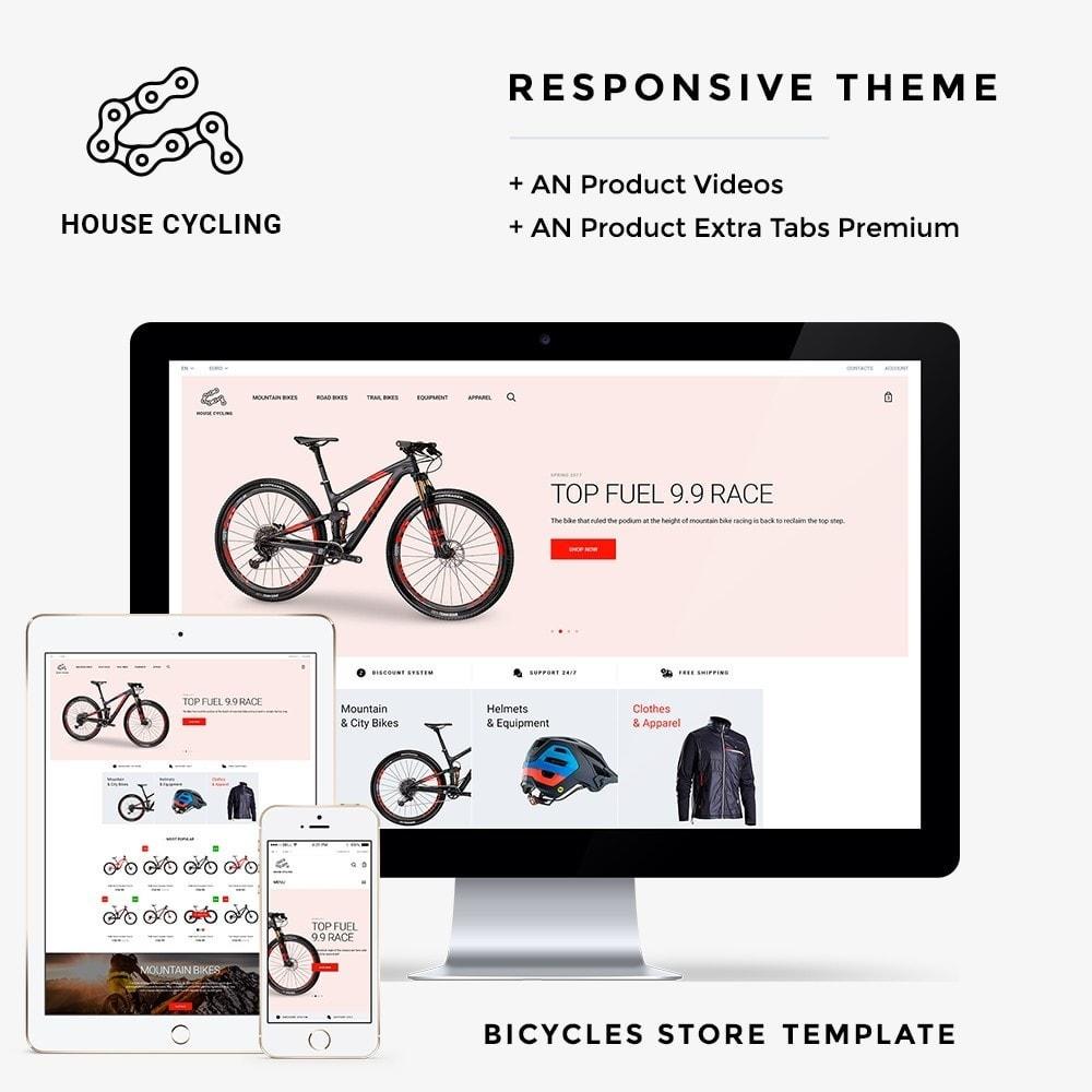 theme - Desporto, Actividades & Viagens - House Cycling - 1