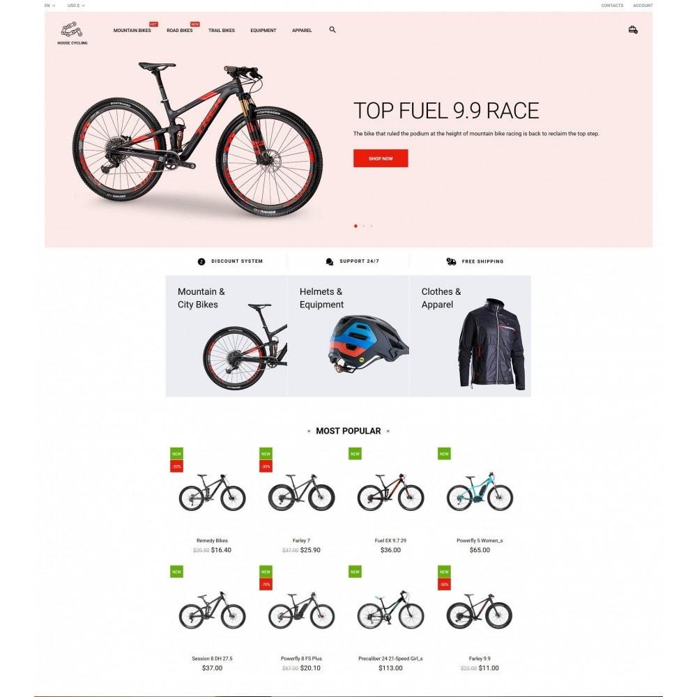 theme - Desporto, Actividades & Viagens - House Cycling - 2