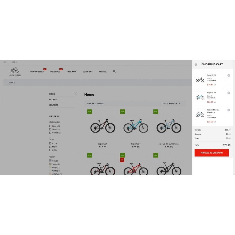 theme - Desporto, Actividades & Viagens - House Cycling - 5