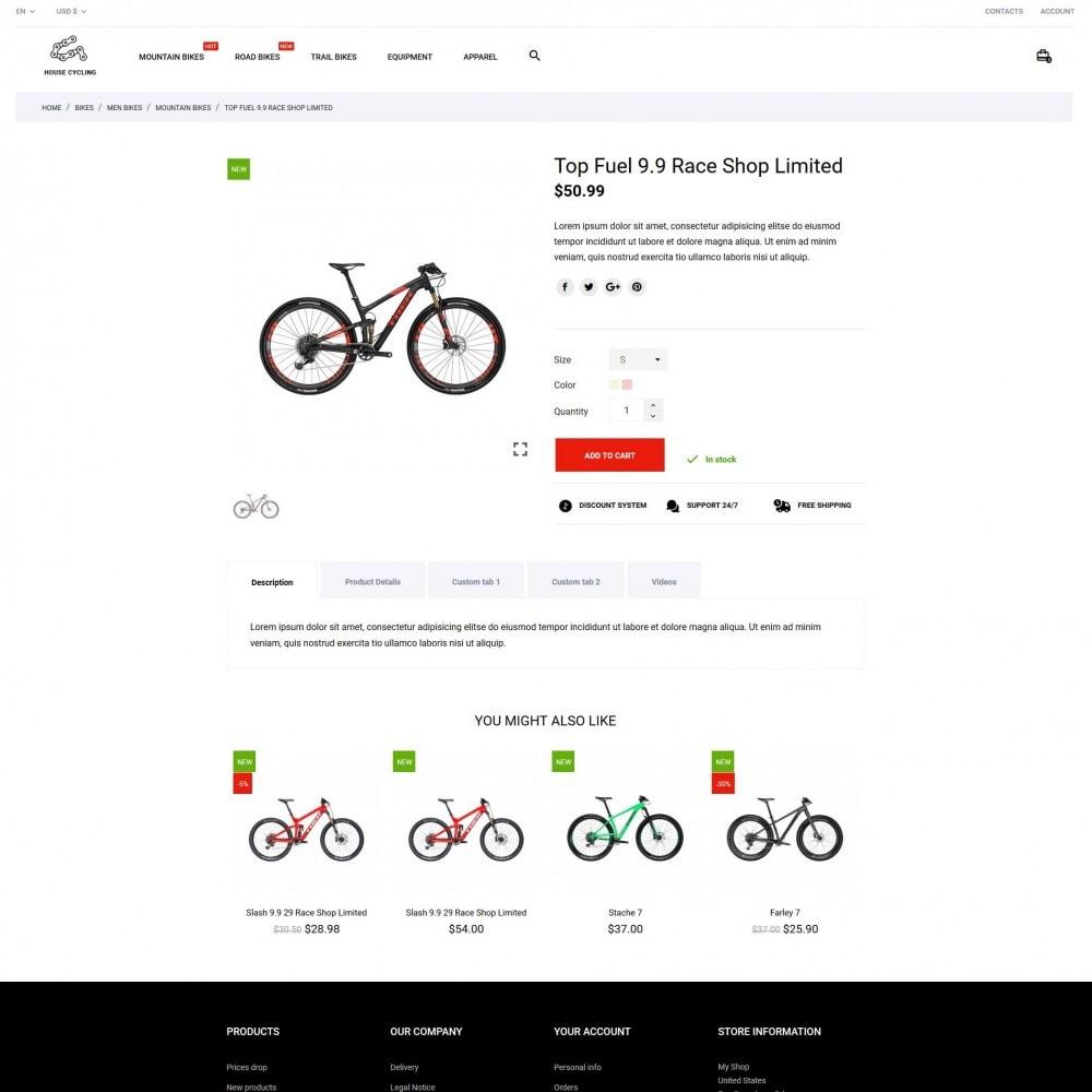 theme - Desporto, Actividades & Viagens - House Cycling - 6