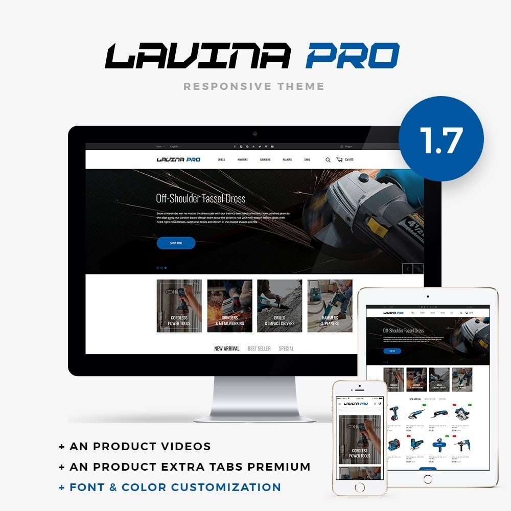 theme - Elektronica & High Tech - Lavina pro - 1